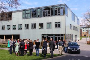 The workshop ended with creative project pitches, some of which took us outside the Imagination Lancaster building.