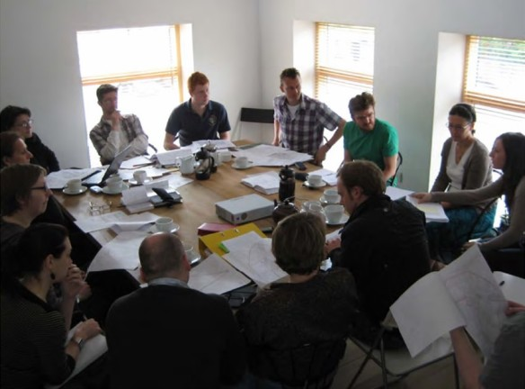 Early meeting of Leeds Live It Share It, Community Interest Company
